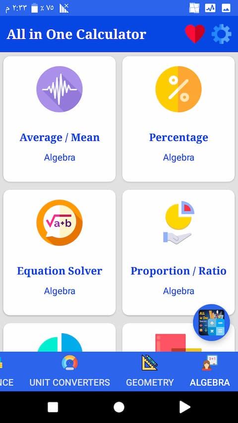 calculator app features