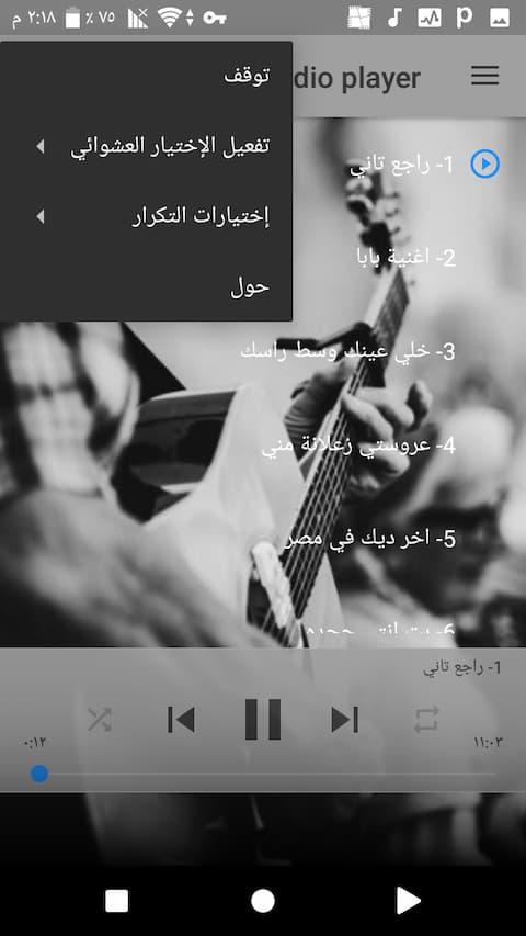 egyptian songs app