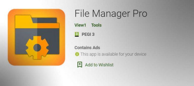 file manager pro file explorer