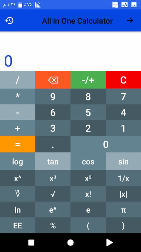 scientific math calculator_