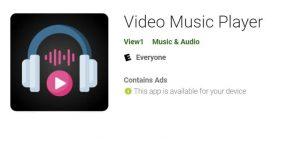 video music player